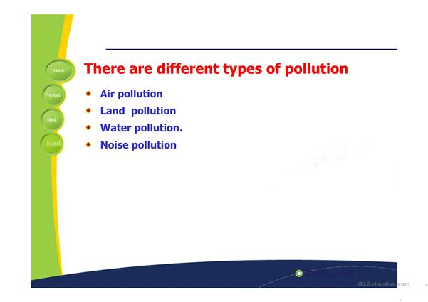 pollution causes and effects