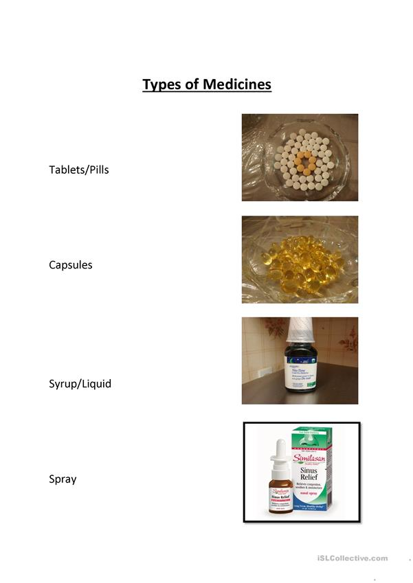 Types of Medicines