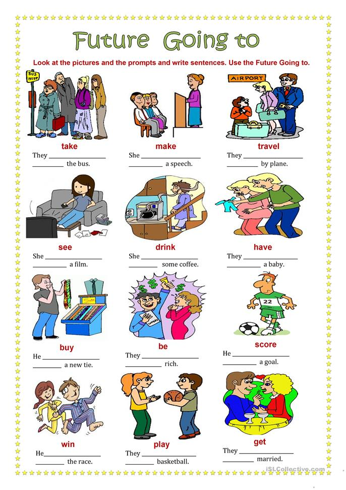 Future Going to. worksheet - Free ESL printable worksheets made by ...