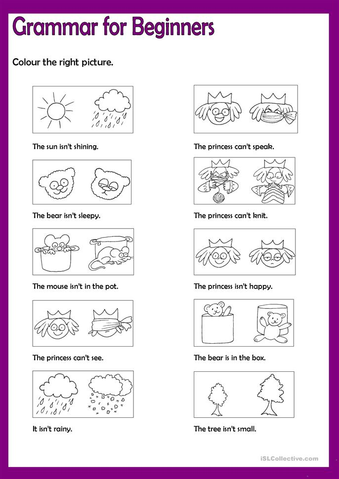 grammar for beginners say no 4 worksheet free esl printable worksheets made by teachers. Black Bedroom Furniture Sets. Home Design Ideas