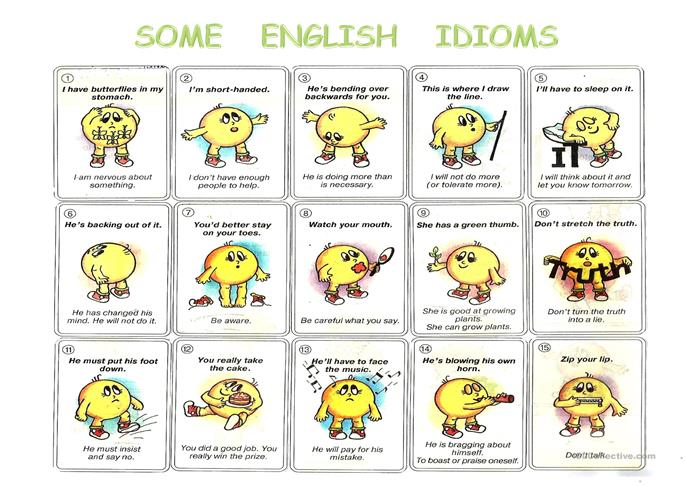 Famous Idioms | Meaning