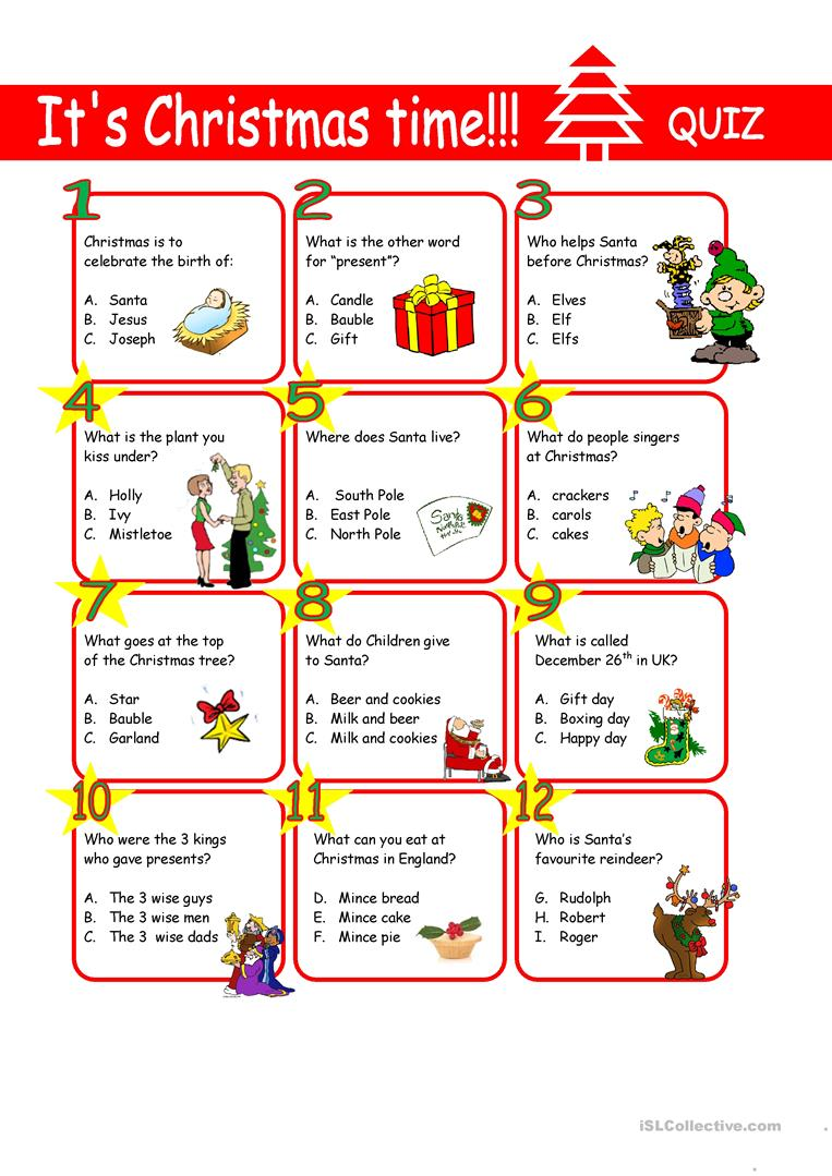christmas-quiz-warmers-coolers_62602_1 Xmas Worksheets Esl on for advanced, family tree, daily routine, first conditional, question words, high intermediate, for beginners weeks, phrasal verbs, free newcomer,