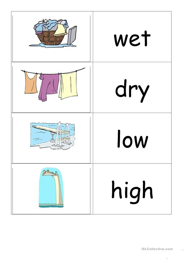 Adjectives flashcards