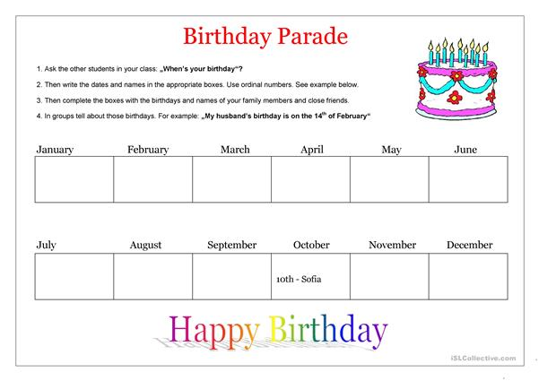 Birthday Parade