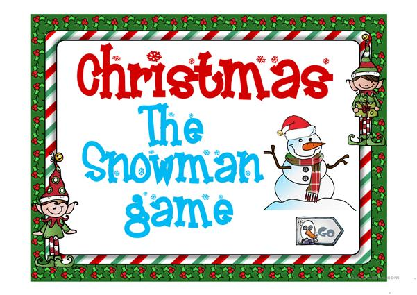 CHRISTMAS THE SNOWMAN GAME