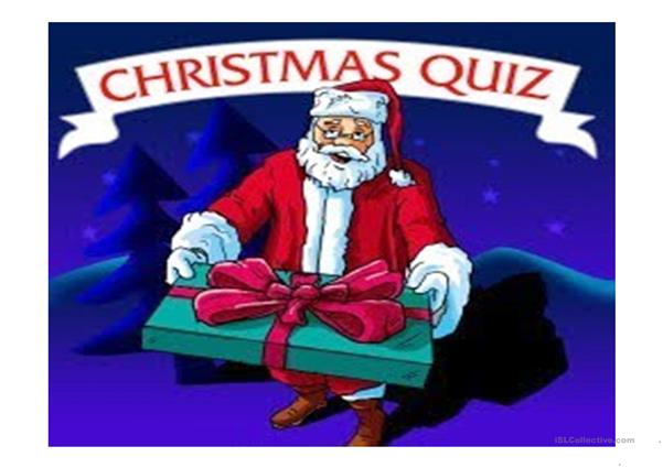 Christmas Vocabulary Quiz