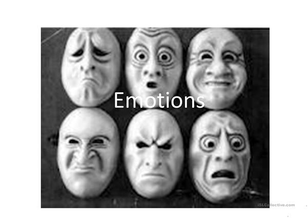 Emotions guessing game