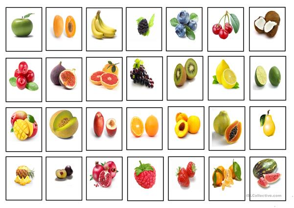 Fruit - Cards (Images)