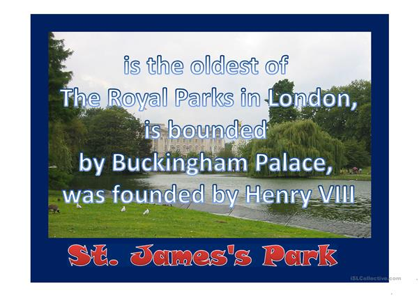 Royal sights in London