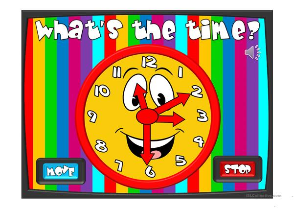 What´s the time? - game
