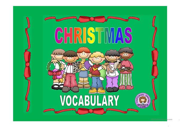 XMAS - VOCABULARY