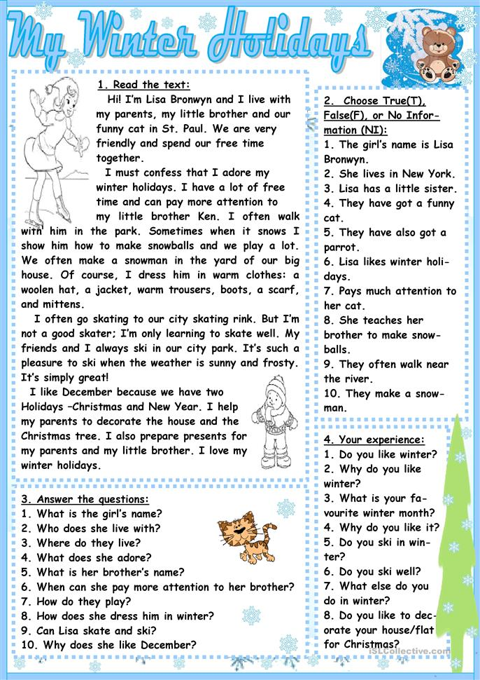 my winter holidays worksheet free esl printable worksheets made by teachers. Black Bedroom Furniture Sets. Home Design Ideas