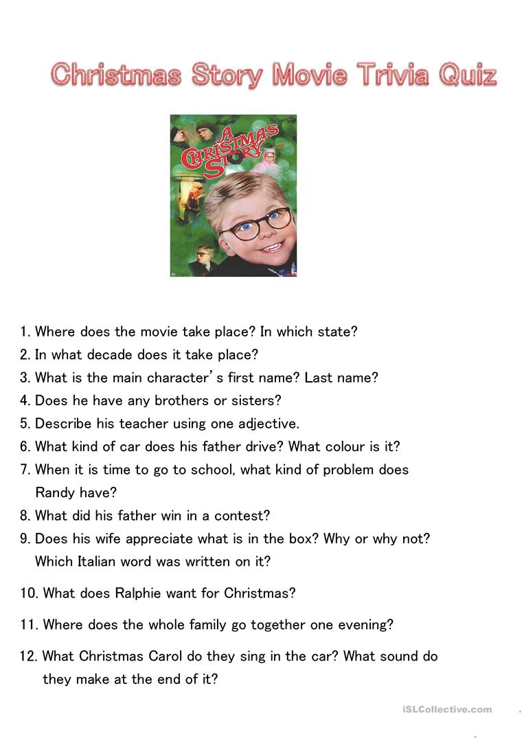 christmas story movie trivia quiz full screen - When Was Christmas Story Made