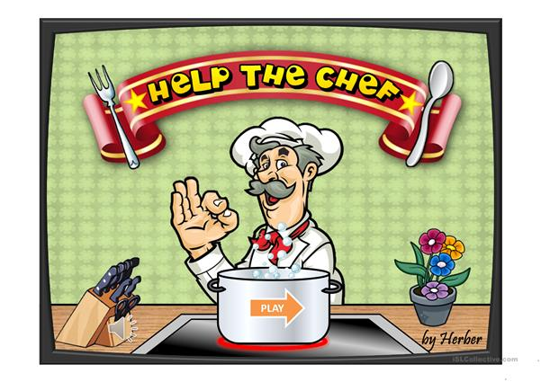 HELP THE CHEF