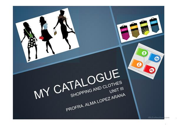 my catalogue
