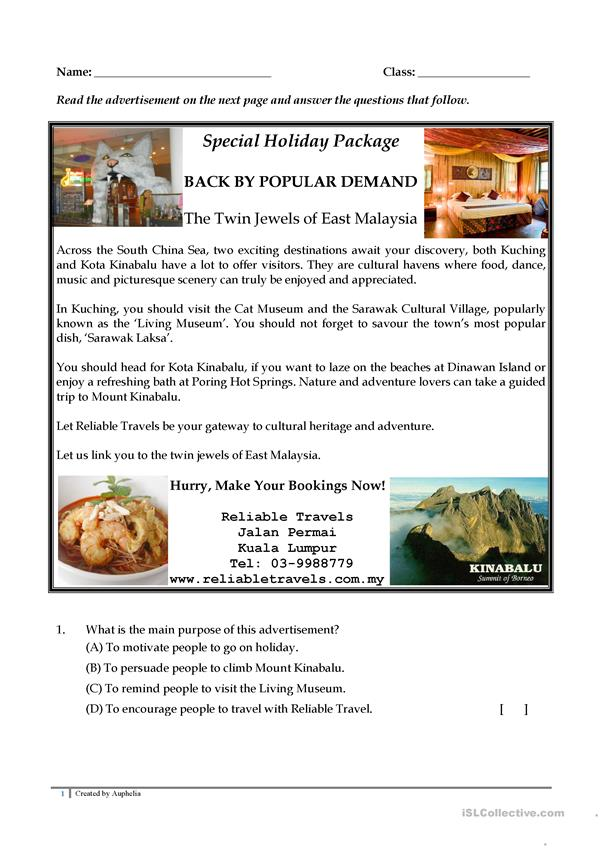 Special Holiday Package