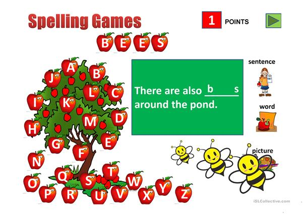 Spelling Game_Animals