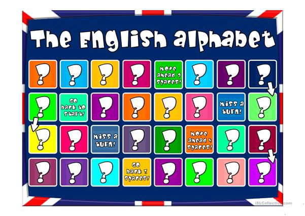 The English Alphabet - quiz