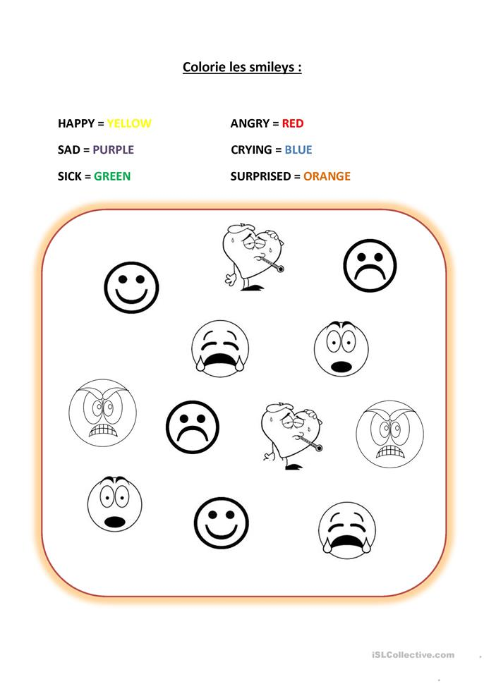 Printables Mood Worksheets 9 free esl moods worksheets feelings emotions smileys