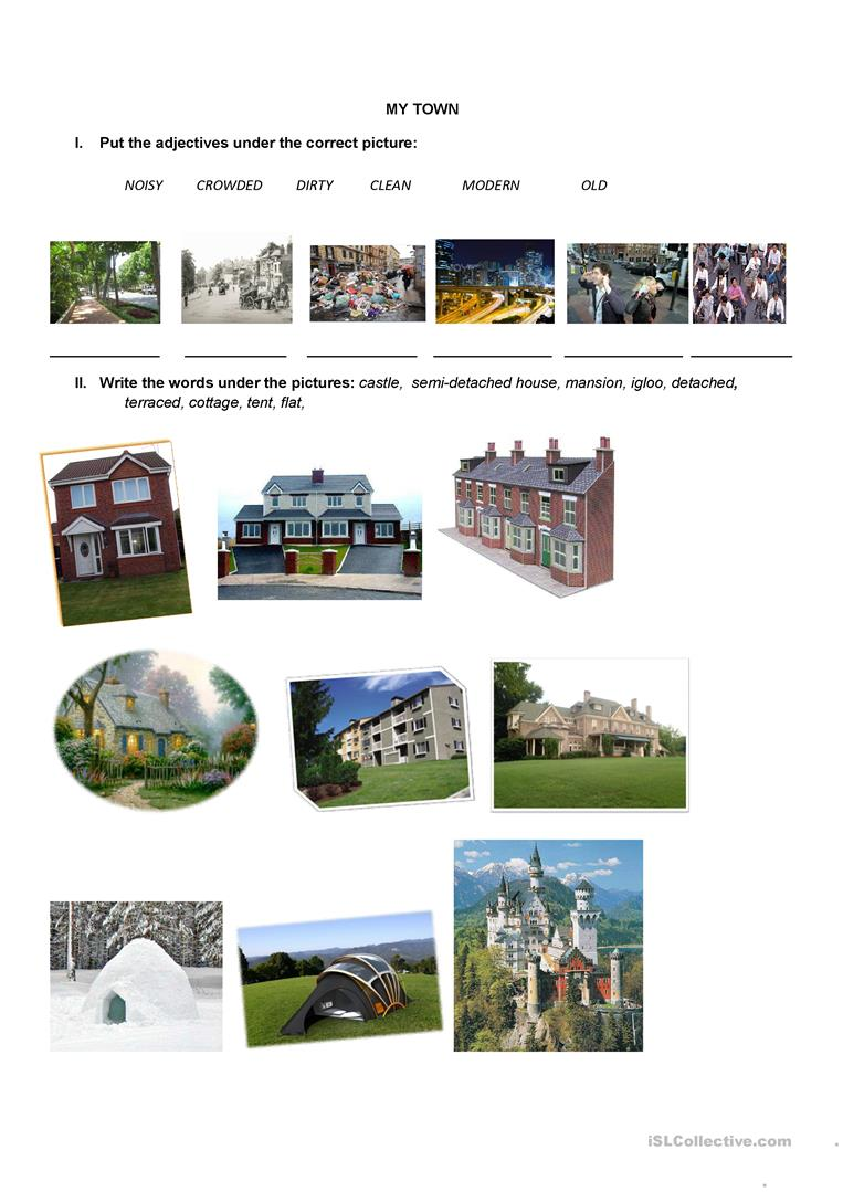 Types of houses worksheet house plan 2017 for All types of houses pictures