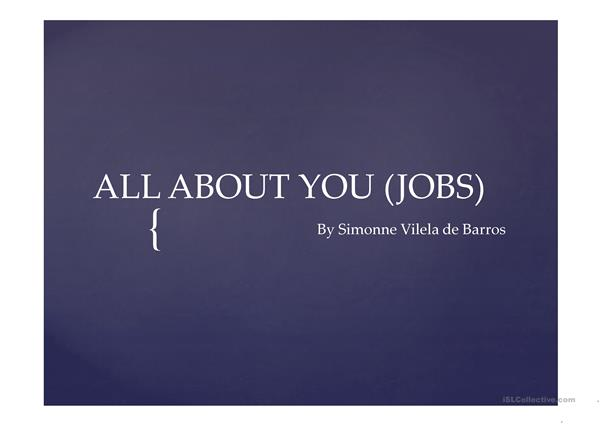 all about you jobs