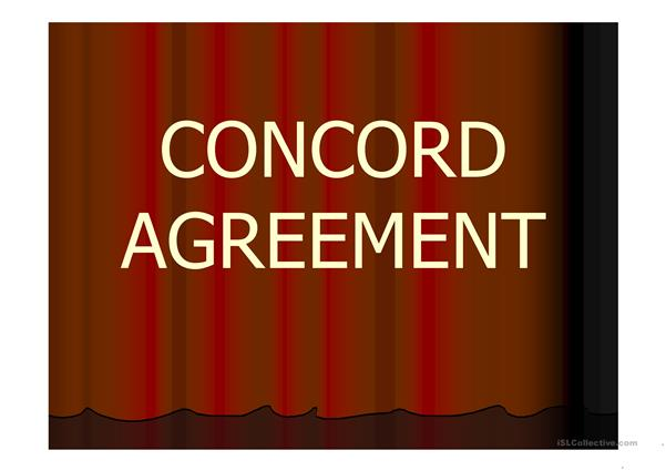 concord agreement