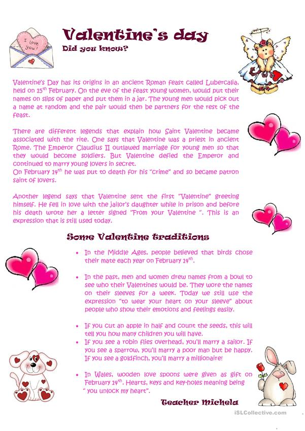 Did you know...? Some Valentine traditions