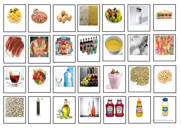 FOOD and DRINKS - Cards (2)