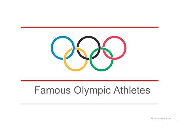 Olympic Athletes & Their Nationalities
