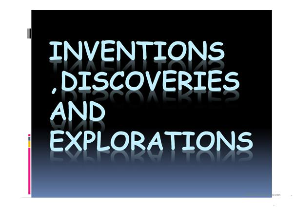 PAST TENSE-INVENTIONS,DISCOVERIES
