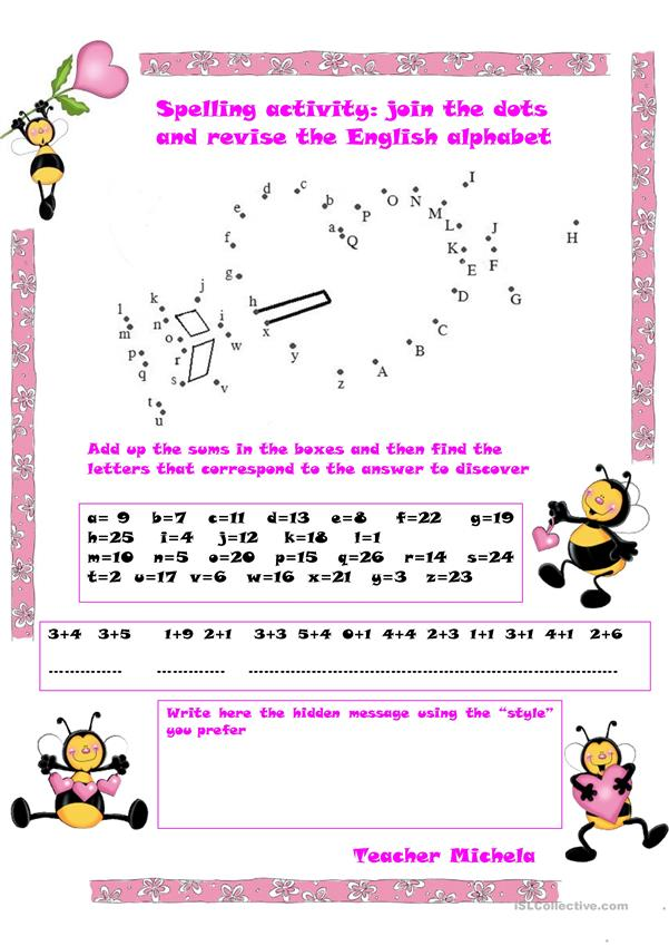 Spelling activity: St. Valentine's Day