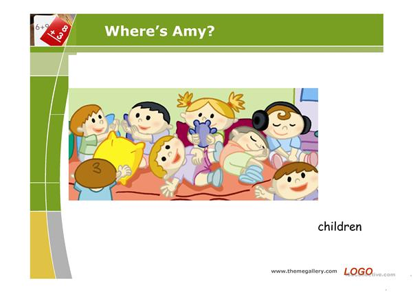 Where is Amy?