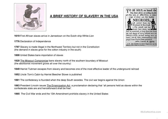 the issues of slavery in the south of the united states