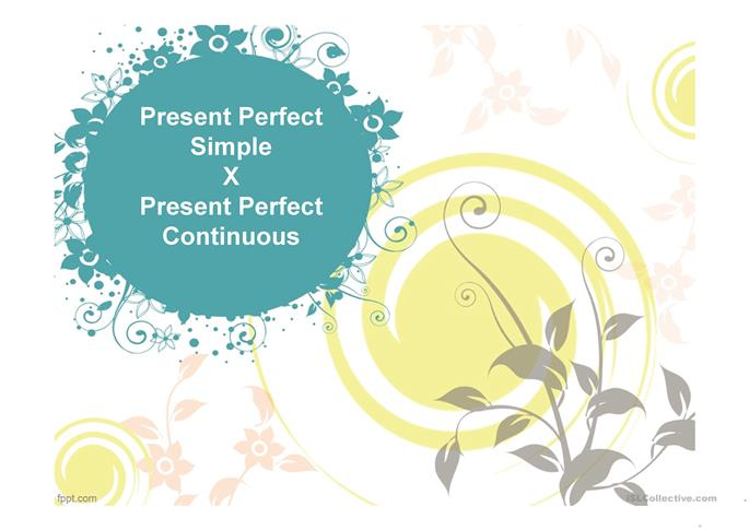 15 free esl present perfect continuous powerpoint