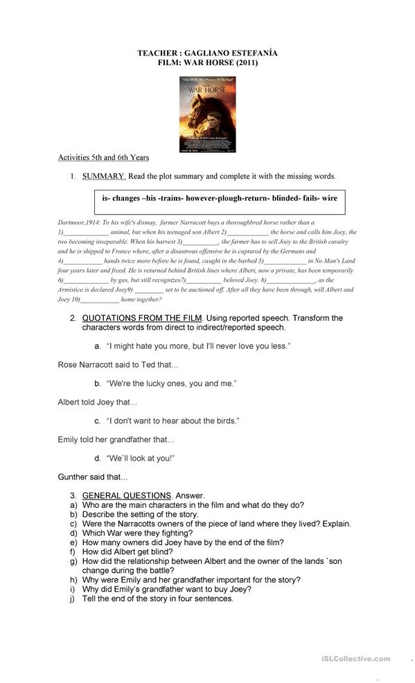 edit essay war film The french and indian war essay  film analysis essay conclusion lewis read  indian war essay niagara county edit my essay on physics.