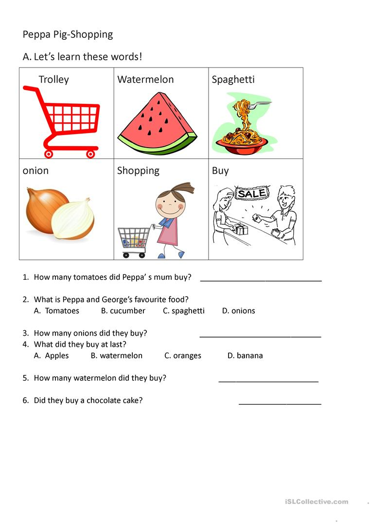 Worksheet reading a recipe worksheet grass fedjp worksheet study worksheet reading a recipe worksheet 25 free esl peppa pig worksheets a worksheet based on youtube forumfinder Choice Image