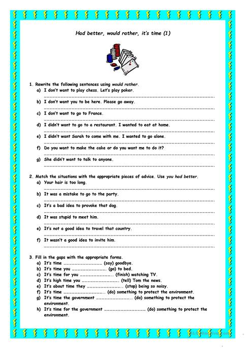 Its Vs It S Worksheet Worksheets for all | Download and Share ...