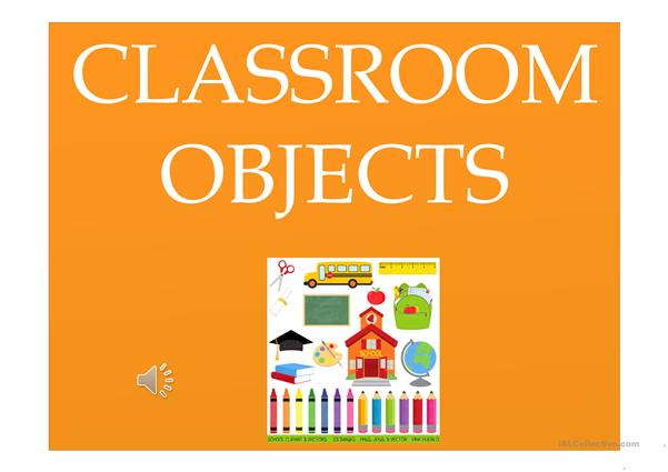 Flashcards - Classroom Objects