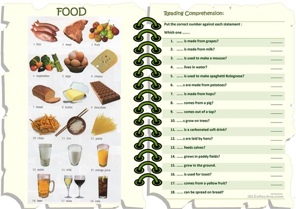FOOD - which one(s) ...