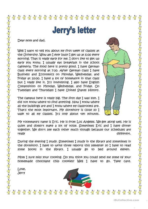 Jerry's Letter