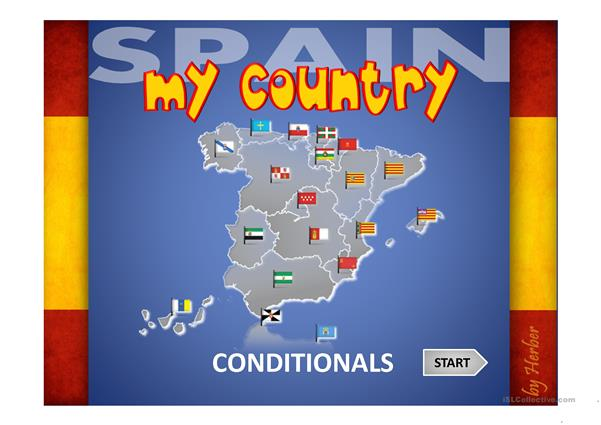 MY COUNTRY - CONDITIONALS