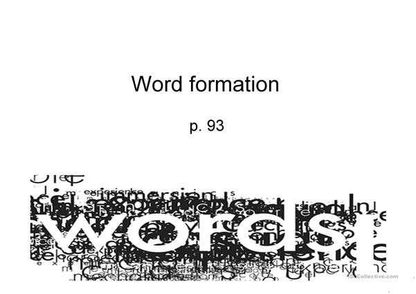 sport word formation and collocations