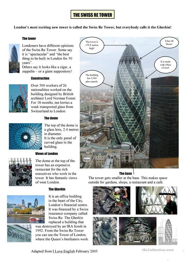The Swiss Re Tower -