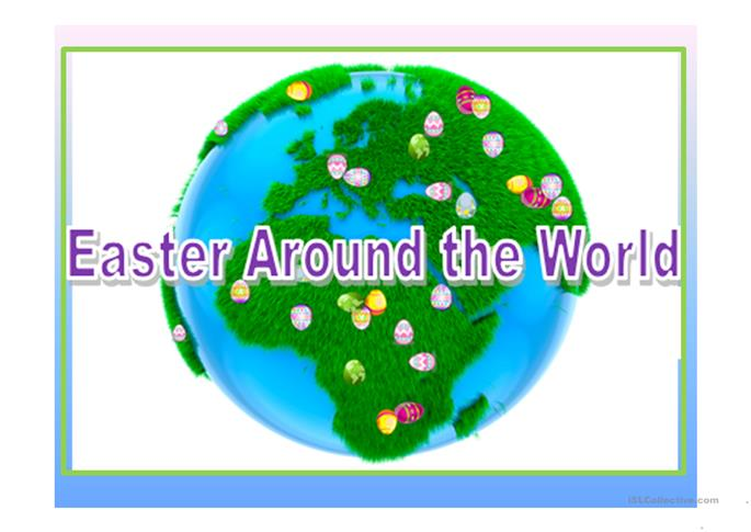 Easter Around the World worksheet - Free ESL projectable ...