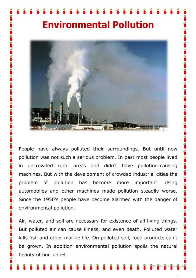 essay about pollution in malaysia Water pollution in malaysia article - download as word doc (doc / docx), pdf file (pdf), text file (txt) or read online.