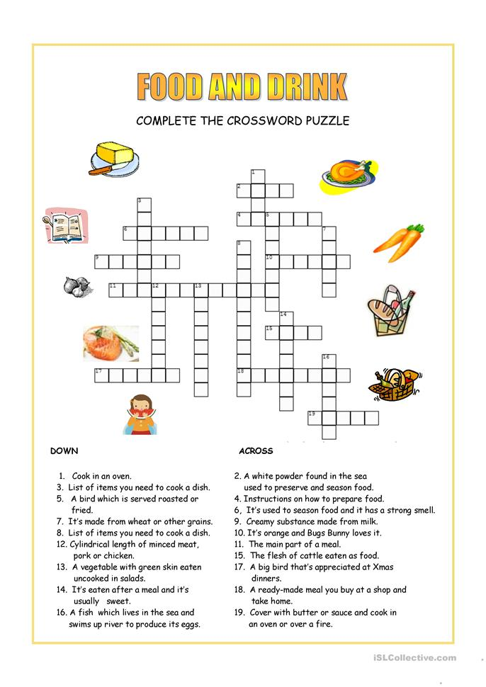 search results for �food crossword puzzles printable