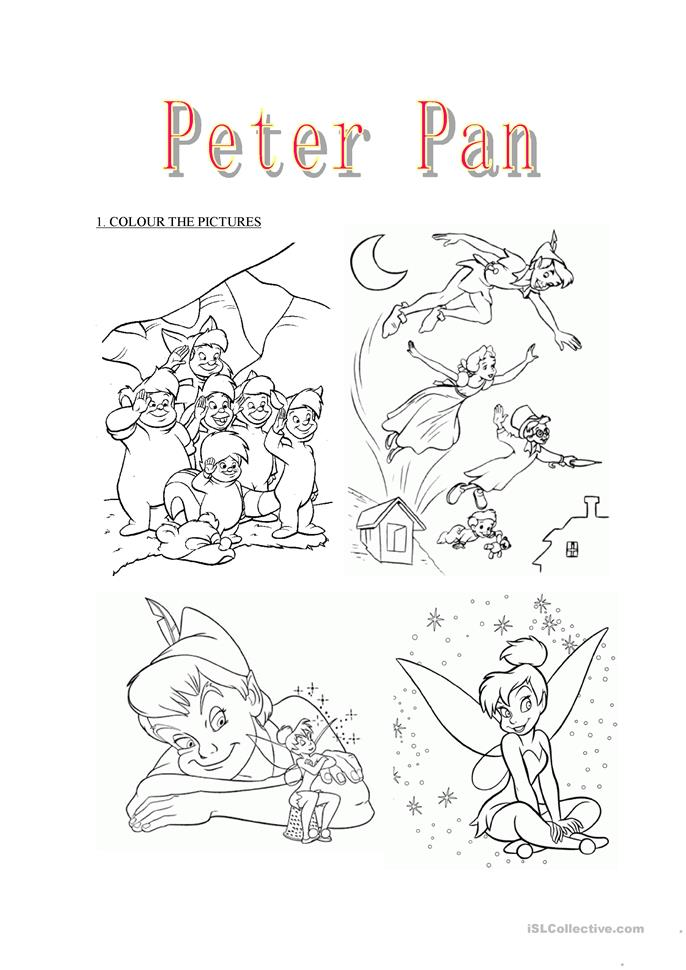 This is an image of Witty Peter Pan Printables