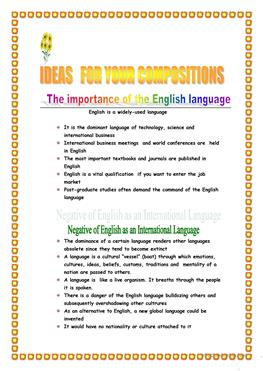 Esl pros and cons essay pitch business plan competition