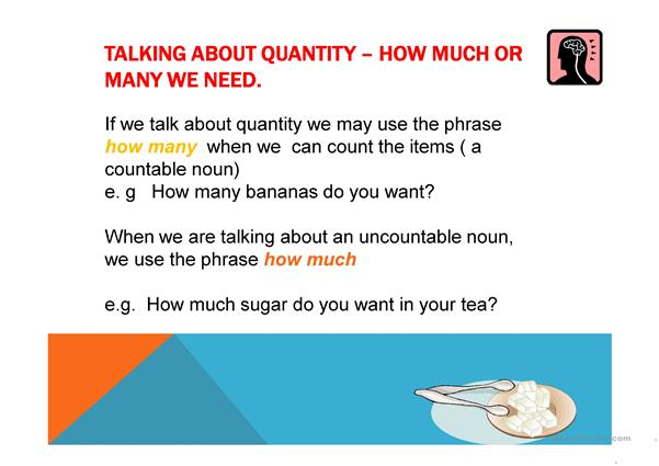 Countable Uncountable Nouns