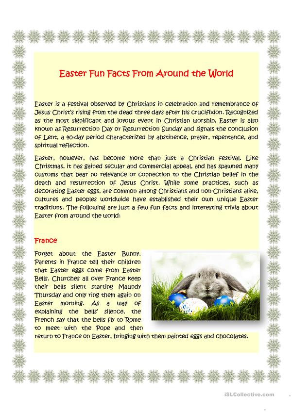 Easter fun facts from around the world